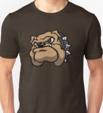 Fun Angry Cartoon Bulldog T-Shirt