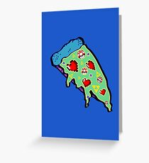 Pizza & Games ver.NationalPizzaDay Greeting Card