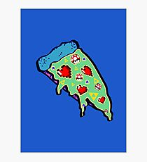 Pizza & Games ver.NationalPizzaDay Photographic Print