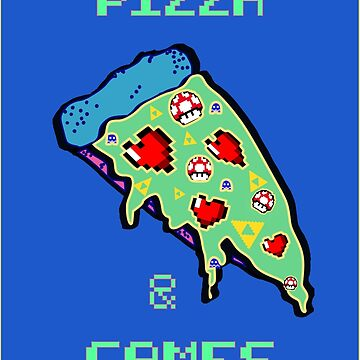 Pizza & Games by Schwaz