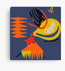 Abstract - Red/Yellow/Orange Canvas Print