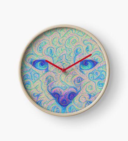 Ice Spirit #DeepDreamed Clock