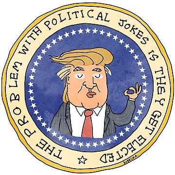 Commemorative Donald Trump Presidential Seal by kudelka
