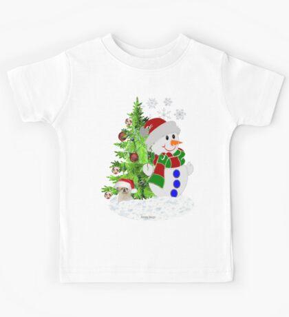 Lets build a Snowman Kids Clothes