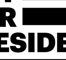Not Our President – Sticker Sticker