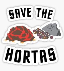 Save The Hortas (Star Trek) Sticker