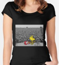 Woodstock at Woodstock Women's Fitted Scoop T-Shirt