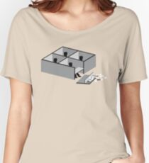 Minimalist Movie Office Space Women's Relaxed Fit T-Shirt