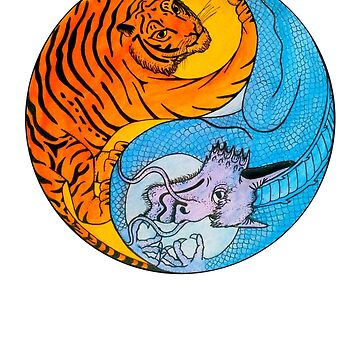 Tiger Dragon Yin Yang by ChrisSerong
