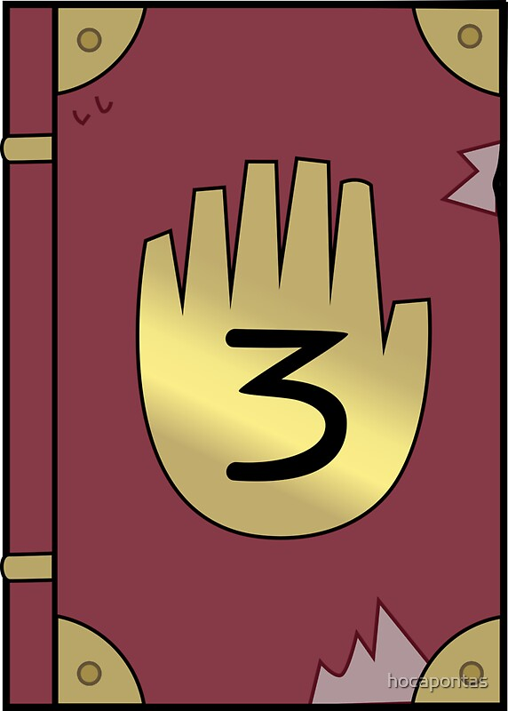 Quot Gravity Falls Journal 3 Quot Stickers By Hocapontas