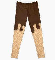 Miss Sundae - Pattern (chocolate) Leggings