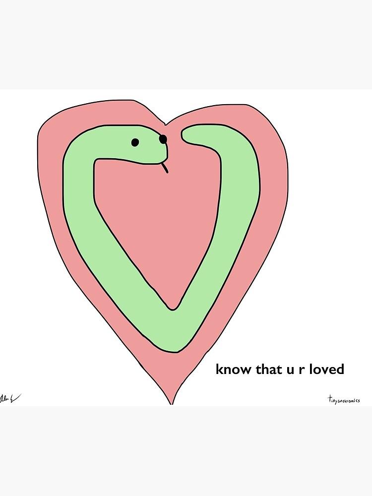 Snek Heart - Kleine Snek Comics von acohen110