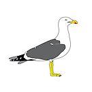 Plain seagull by MangaKid