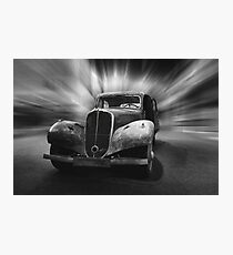 citroen, citroen traction avant 1948 Photographic Print