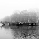 Amsterdam in black and white by pahas