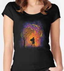 Colours Of The Wind Women's Fitted Scoop T-Shirt