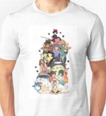 Camiseta unisex Personajes de Studio Ghibli