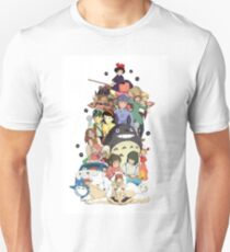 Studio Ghibli Characters T-Shirt