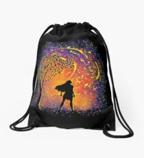 Colours Of The Wind Drawstring Bag