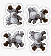 Lanlan the Moose Sticker