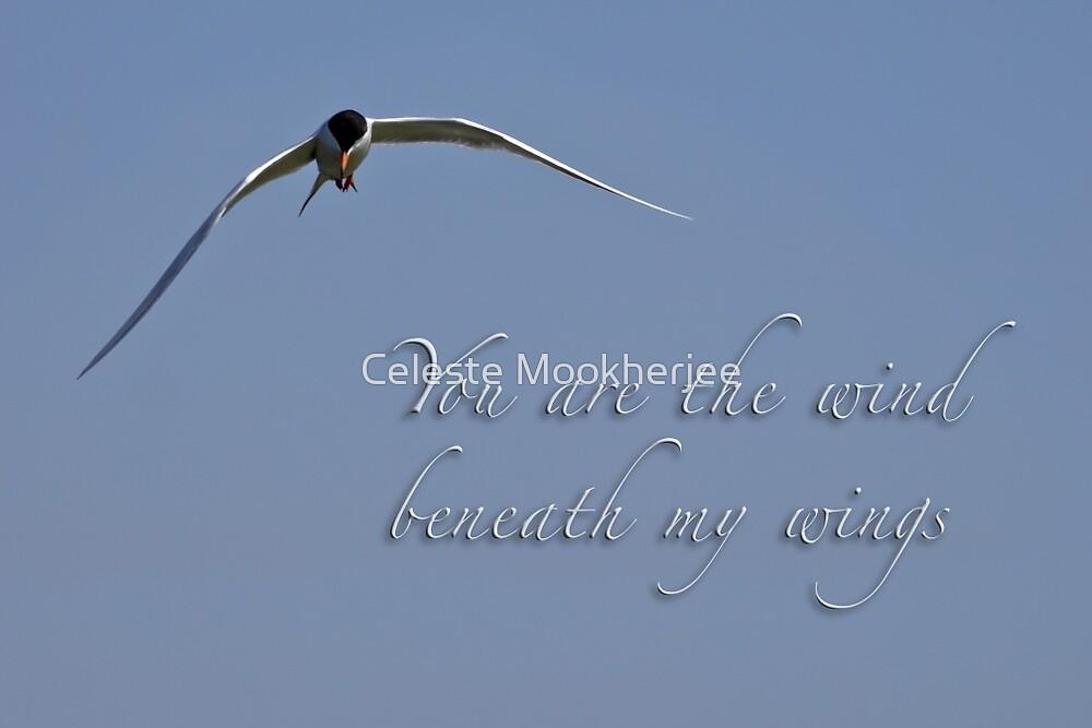Wind unter meinen Flügeln von Celeste Mookherjee