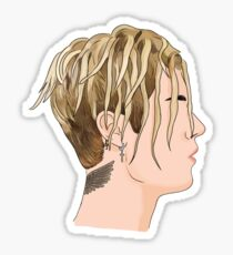 Justin Bieber Dreads Sticker