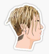 Justin Bieber Dreads Sticker