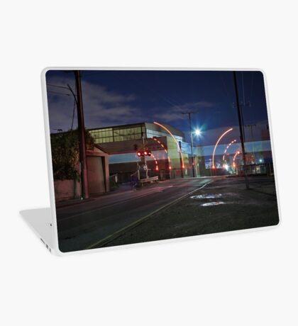 Train Passing (in the night) Laptop Skin