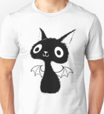 Black Bat-Cat T-Shirt