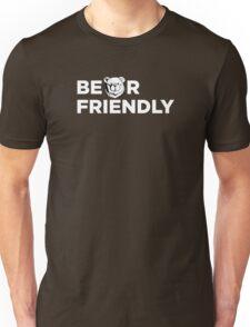 Robust Bear friendly white Unisex T-Shirt