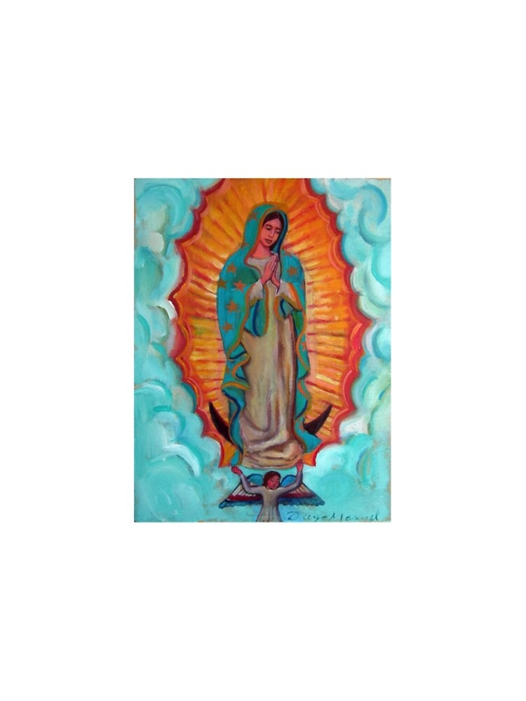 Guadalupe's Virgin by diegomanuel
