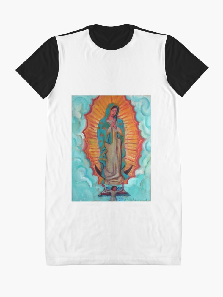 Alternate view of Guadalupe's Virgin Graphic T-Shirt Dress