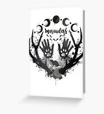 Marauders. Greeting Card