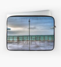 Rainy Redcliffe Pier in HDR Laptop Sleeve