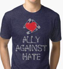 Ally Against Hate Tri-blend T-Shirt