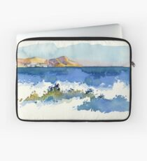 Black Sea Shore Laptop Sleeve
