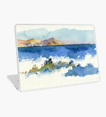 Black Sea Shore Laptop Skin