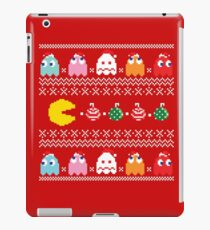 Merry Geeky Christmas (Red)  iPad Case/Skin