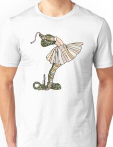 Snake Ballerina Tutu Unisex T-Shirt
