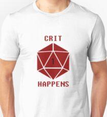 CRIT Happens (Red) T-Shirt