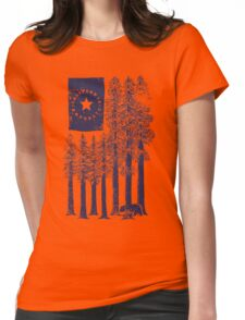 Redwoods Womens Fitted T-Shirt