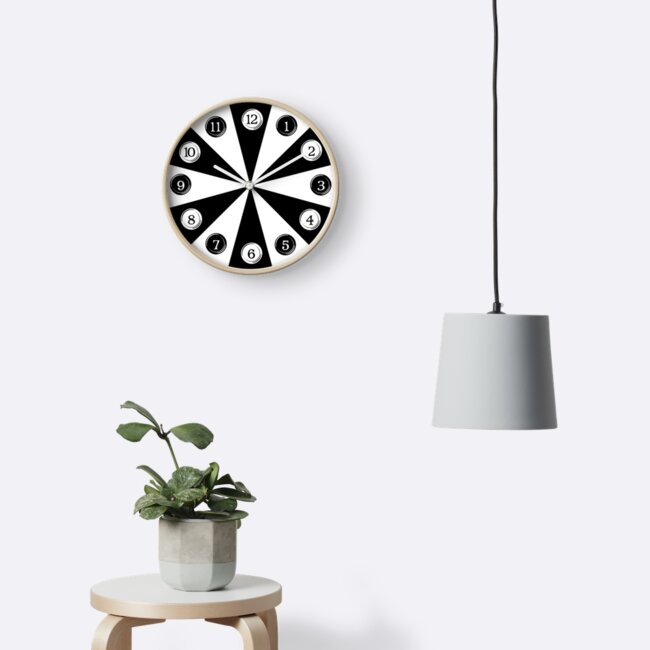 Typewriter Keys Wall Clock by siyi