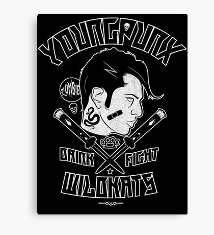 Young Punx / Wildkats Canvas Print