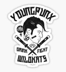 Young Punx / Wildkats Sticker