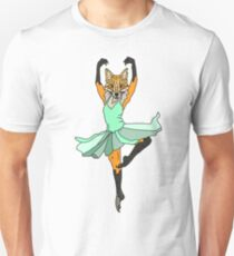 Fox Ballerina Tutu Unisex T-Shirt