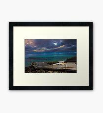 Mettams Pool Beach Ramp  Framed Print