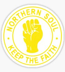 Northern Soul Badge Sticker