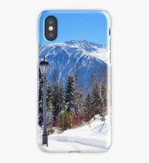 View at Stubai Alps Range, Tyrol, Austria iPhone Case/Skin