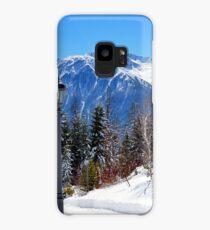 View at Stubai Alps Range, Tyrol, Austria Case/Skin for Samsung Galaxy