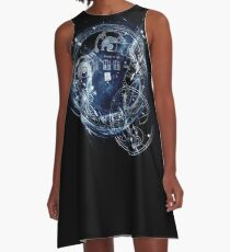 Time and space machine A-Line Dress